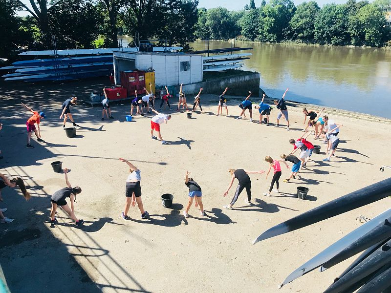 Summer Half Term Junior Rowing Camp